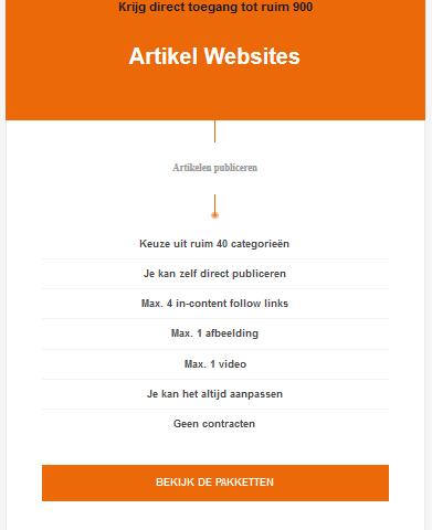 artikel websites